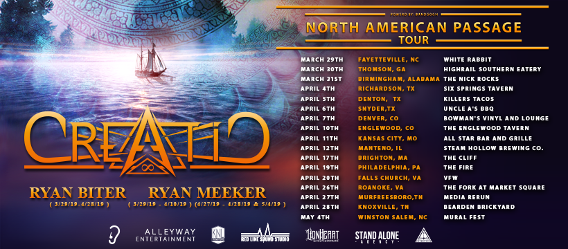North American Passage Tour - Cover Phot