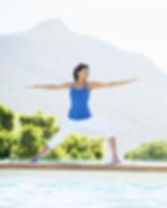 Yoga avec vue