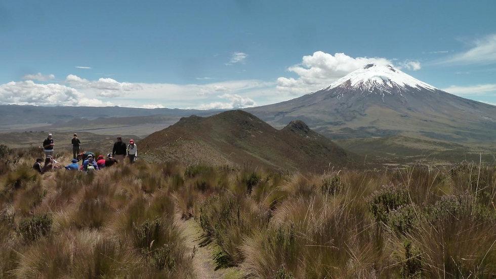 ECUADOR, Trekking en Abraspungo,  Ascensión Volcán Carihuairazo