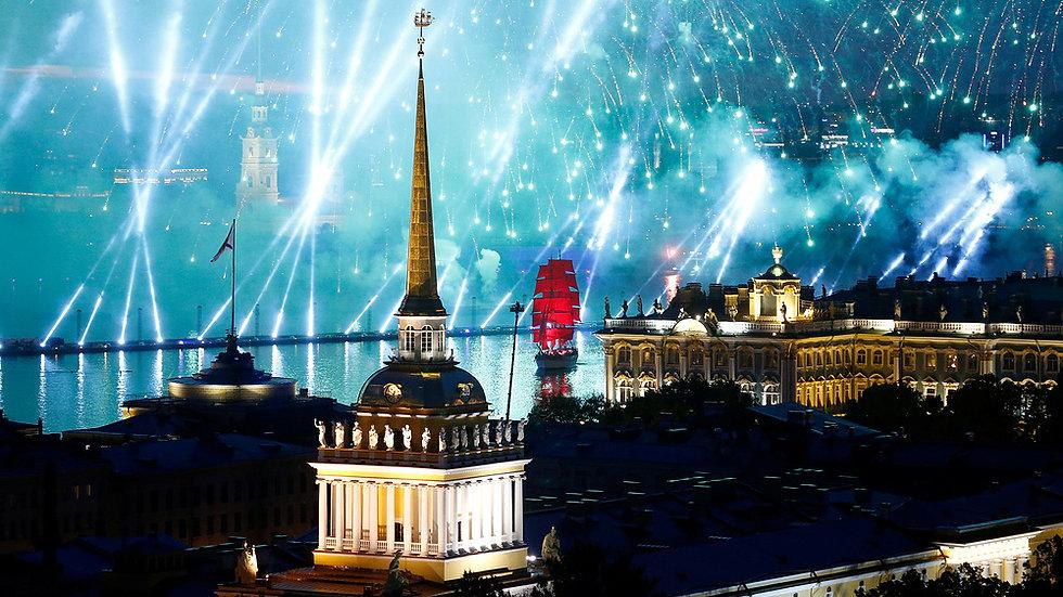 RUSIA, Escapada a San Petersburgo, Las Noches Blancas