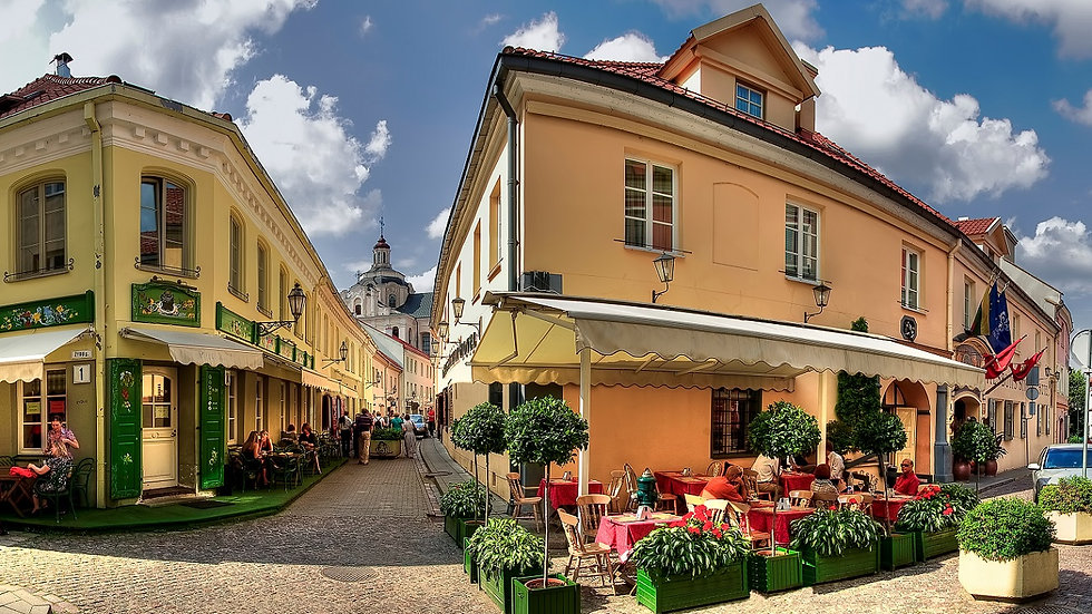 LITUANIA – LETONIA – ESTONIA,  Capitales Bálticas