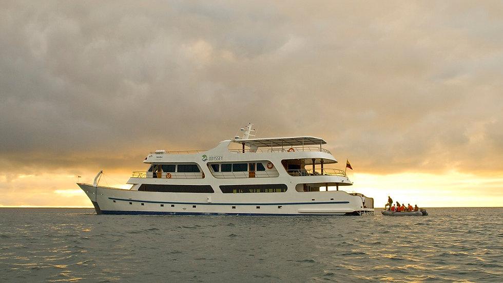 ECUADOR, Crucero en las Islas Galápagos