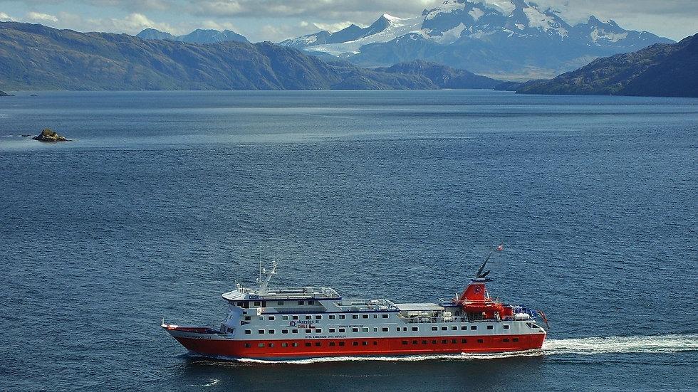 CHILE, Crucero Skorpios, Ruta Kaweskar en M/N Skorpios III