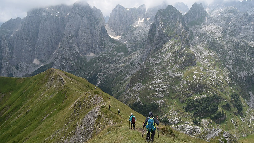 ALBANIA,  Trek Norte Albania