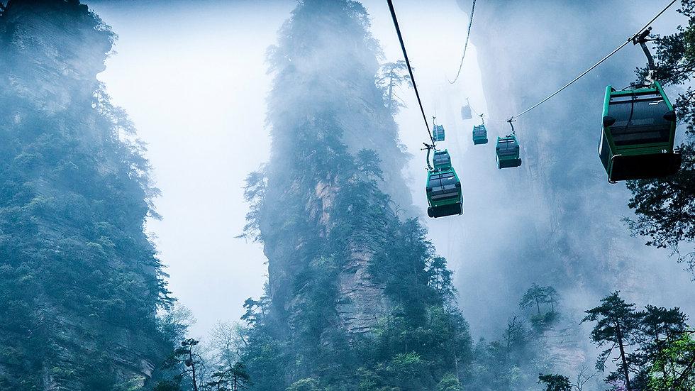 CHINA, Paisajes de Avatar
