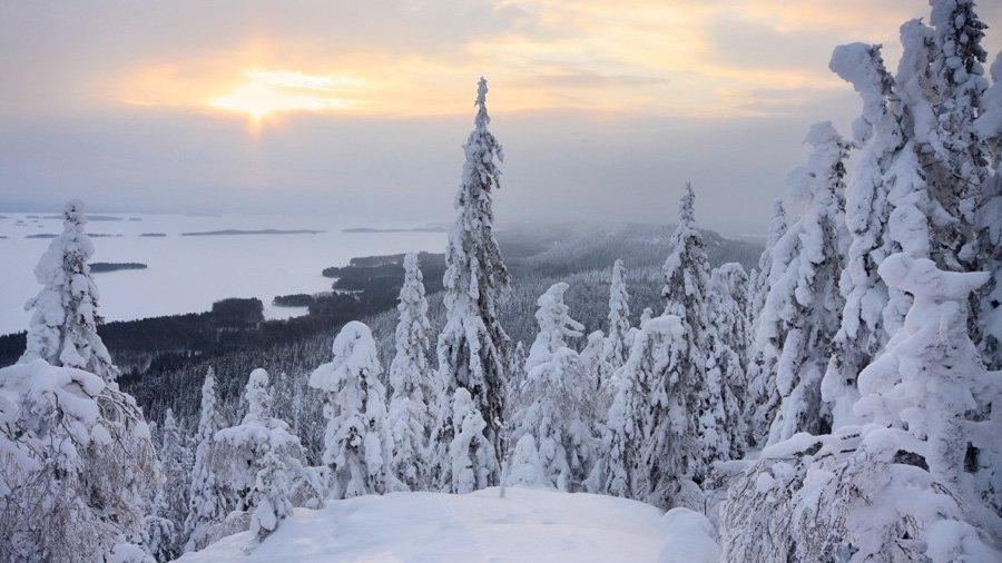 FINLANDIA,  Auroras boreales y aventuras árticas