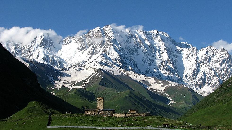 GEORGIA, Trekking en Svaneti / Kazbegui - GRUPOS