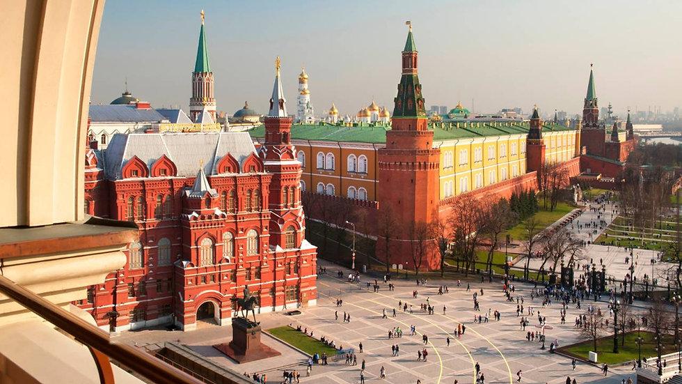 RUSIA, Moscú y San Petersburgo, La Ruta de los Zares