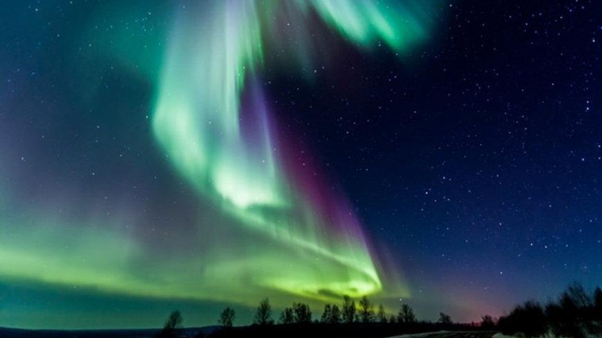 ALASKA, Auroras Boreales en el Ártico
