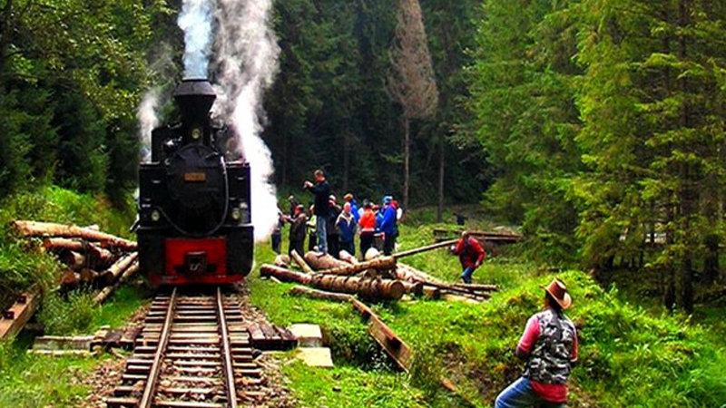 Rumanía, a través de Transilvania con las locomotoras de vapor
