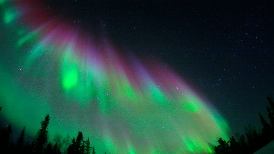 CANADÁ, Auroras Boreales en Yukón