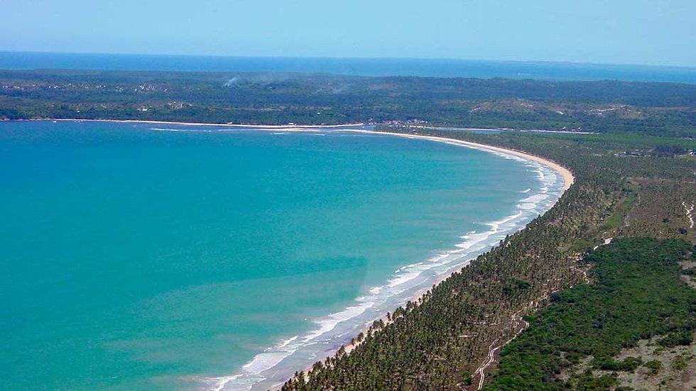 BRASIL,  Experiencia Boipeba, Descalzos por la playa