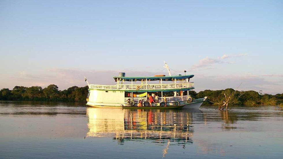 BRASIL,  Experiencia  Amazonas, Crucero por el Amazonas