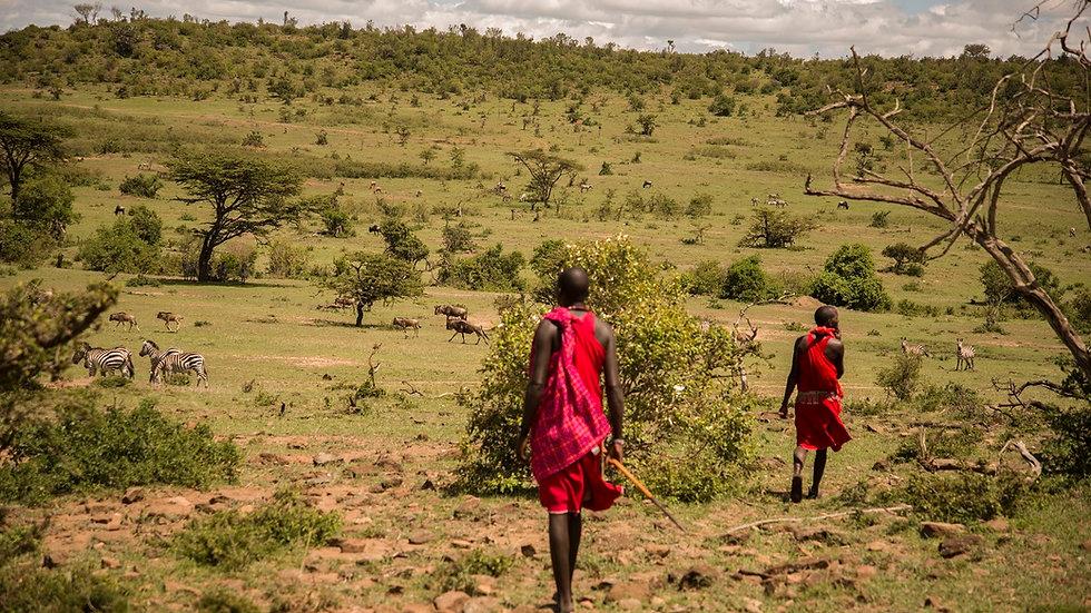 KENIA, Walking Safari, Caminando con los Masai