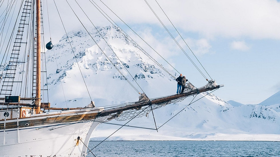 NORUEGA, SVALBARD, La Conquista del Ártico, a bordo del S/V Linden