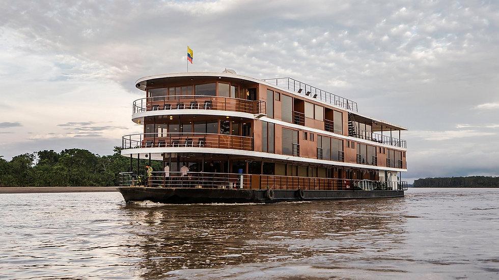 ECUADOR, Crucero por la Selva del Amazonas