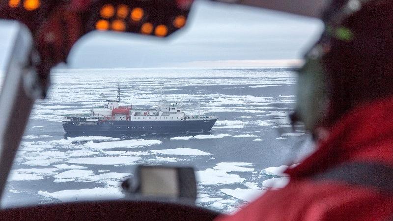 ANTÁRTIDA, Mar de Weddell – En busca del Pingüino Emperador incl. helicópteros