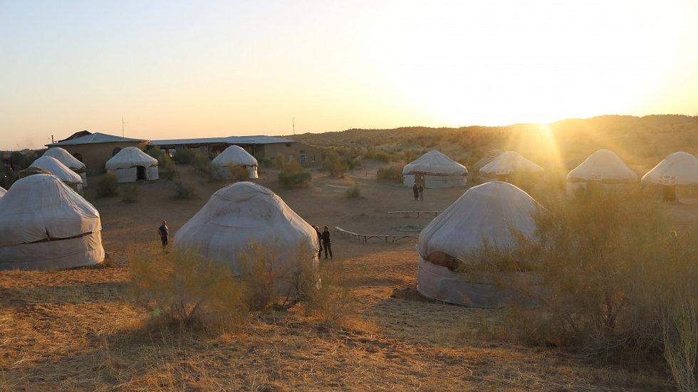 UZBEKISTÁN,  Ruta de la Seda Experience, con yurtas
