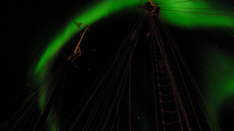 NORUEGA, SVALBARD, Svalbard Central, Aurora boreal