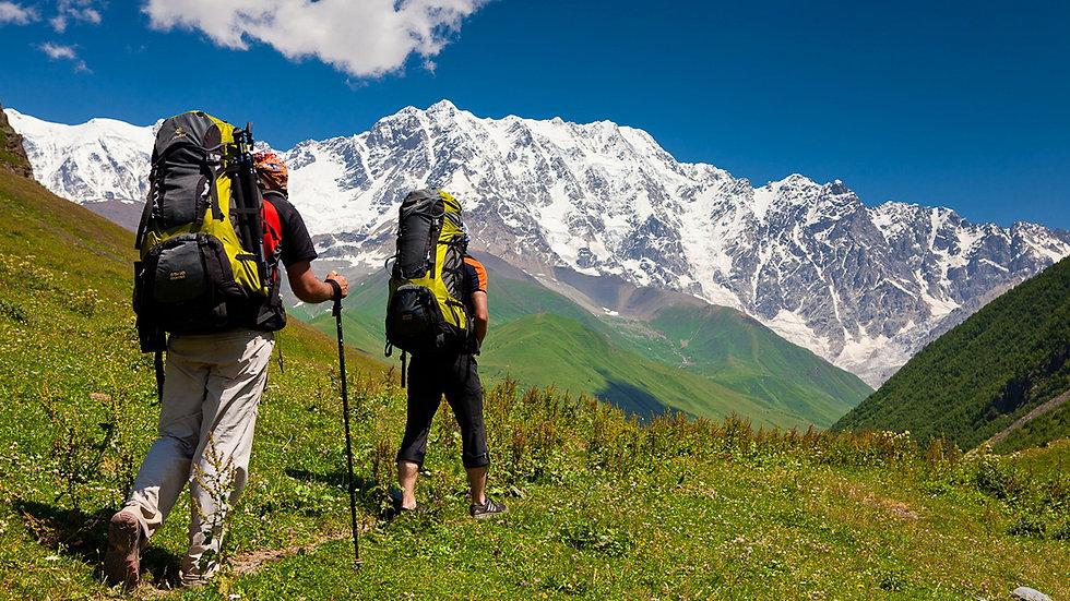 GEORGIA,  Trekking en Svaneti, Salida en grupo