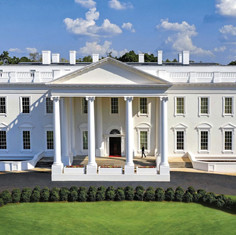 Tyler Perry Studios White House (Courtesy Tyler Perry Studios. January 2020).