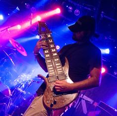 Venezuelan Musician and Guitarrist Felix Martin at Live Event. (Photo courtesy of Felix Martin).