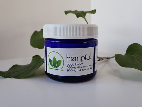 2oz hempful body butter