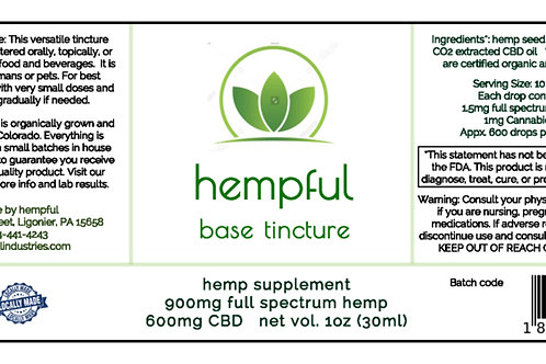 Base Tincture for Pets