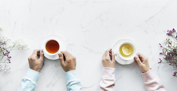 Prendre le thé en couple