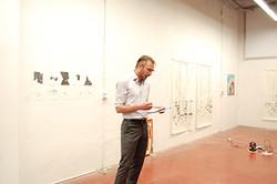 William Van Straten performance-lecture