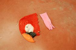 V.E.masque.gant