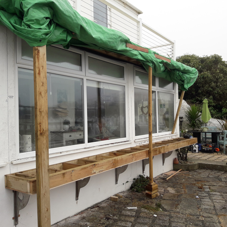 During Bay Window Extension