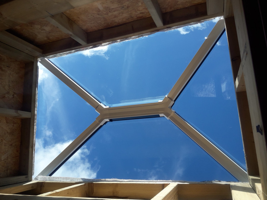 Smaller Roof Lantern from the inside