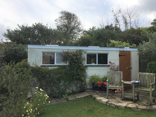 Garden Shed before installation