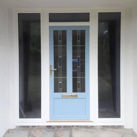 uPVC Door After