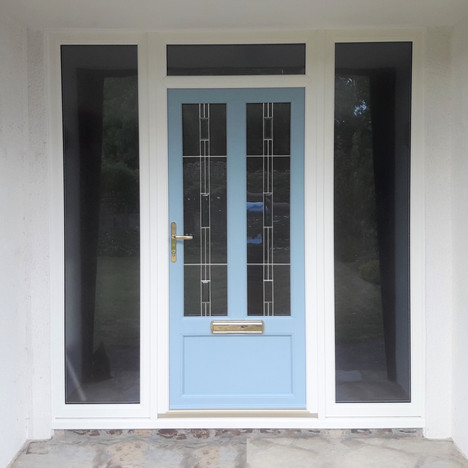 uPVC Door After