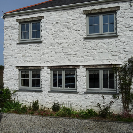 Agate Grey uPVC Windows