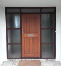 Wooden Door Bofore