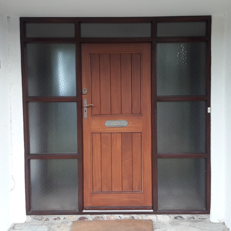 Wooden Door Bofore