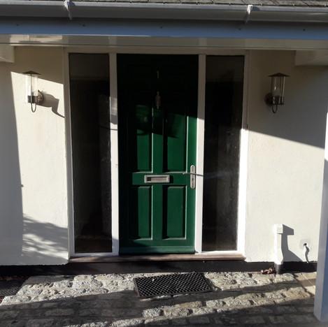uPVC Door before