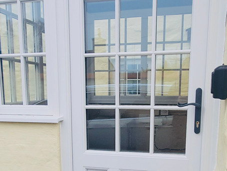 Replacement porch windows and doors