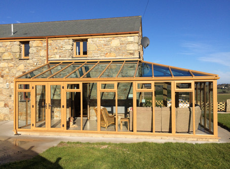 uPVC conservatory extension transformation