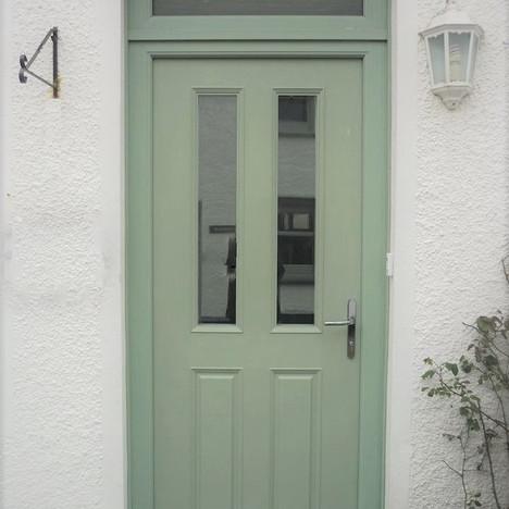 Green Door After