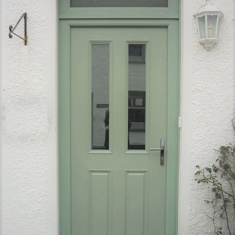Green Door After
