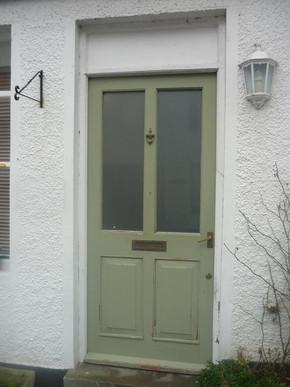 Green Door Before