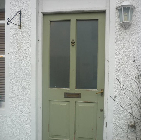 Green Door Before