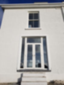 uPVC Sliding Sash window and French Doors