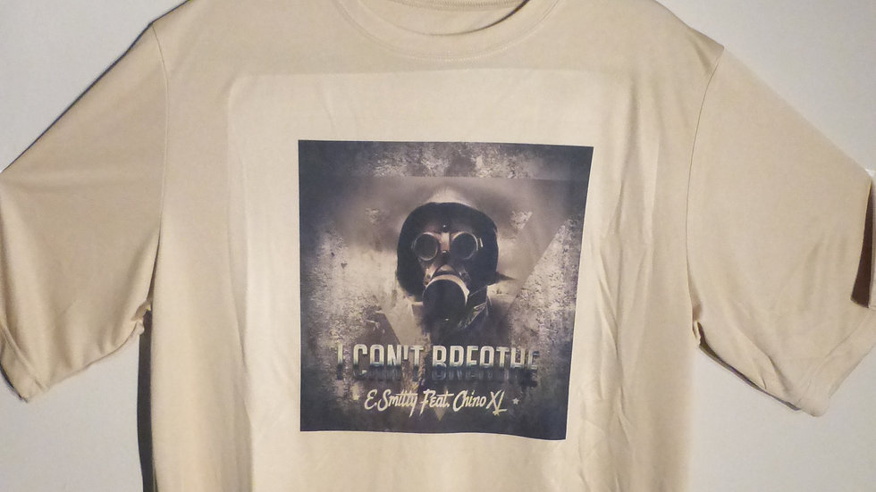 "E. Smitty & Chino XL - ""I Can't Breathe"" T-Shirt"