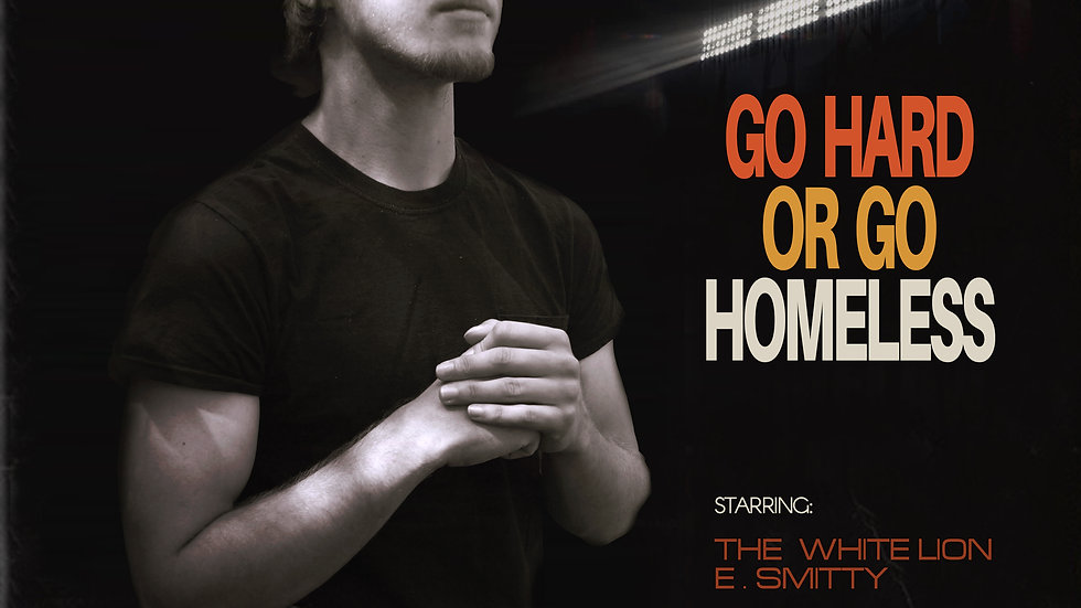 "The White Lion - ""Go Hard Or Go Homeless"" Limited Edition CD"