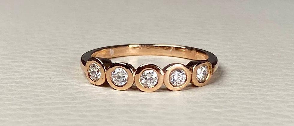 Diamond Plaque Ring
